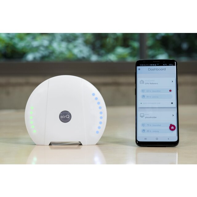 air-Q Light with basic sensors for offices and schools
